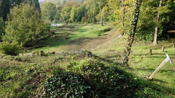 001 - Le site bouleversé du Vieux Craonne