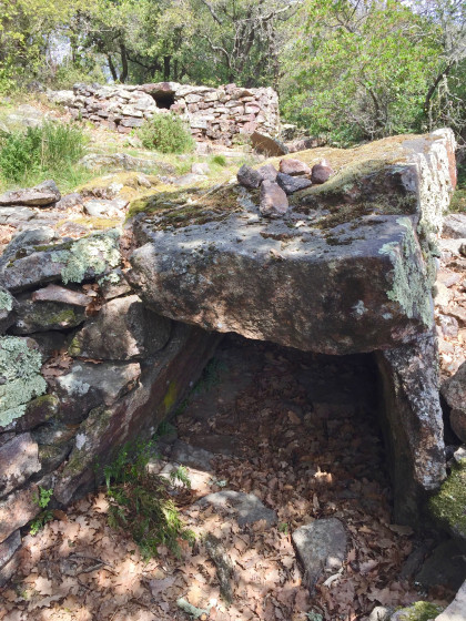 Deux des dolmens ...