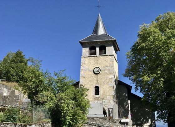 L'église de Bellecombe