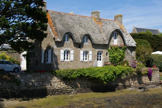 La petite maison sur l'île de Saint Cado
