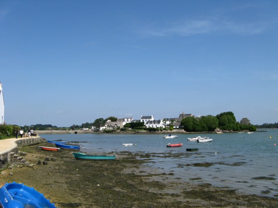 La rivière d'Etel et Saint Cado
