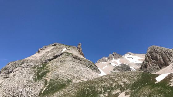 La Tête de l'Aupet vue du vallon de Truchière