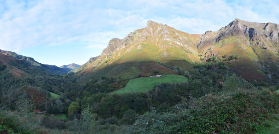 La vallée au départ