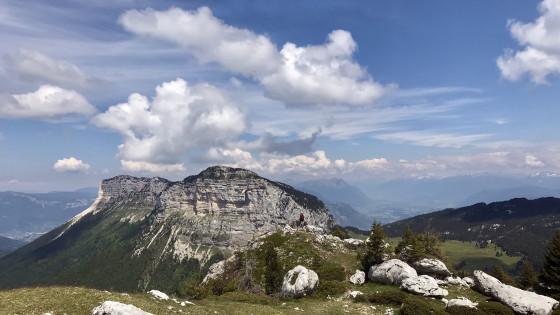 Le Mont Granier vu du sommet du Truc