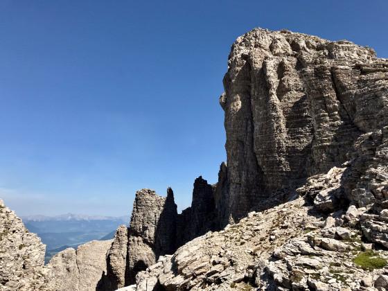 Les rochers torturés du Pras d'Oriol