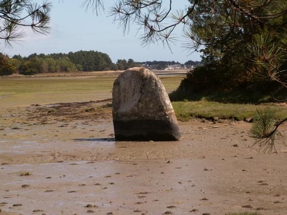 Menhir mouillé de Penglaouic