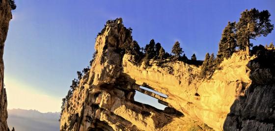 Panoramique de la Tour Isabelle au lever du soleil