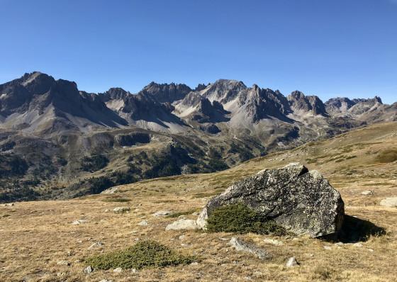 Photo de repérage - grosse pierre sous la Recare