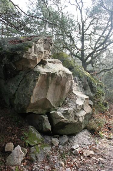 rocher cassé