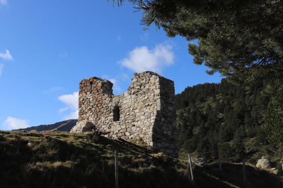 Ruine de la chapelle