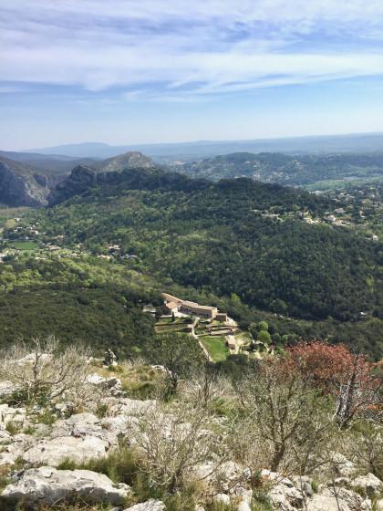 Vue depuis le sommet des Capélans ...