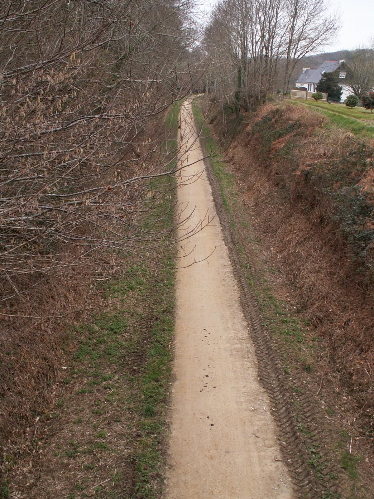 Photo ancienne voie ferr e for Dans cette voie