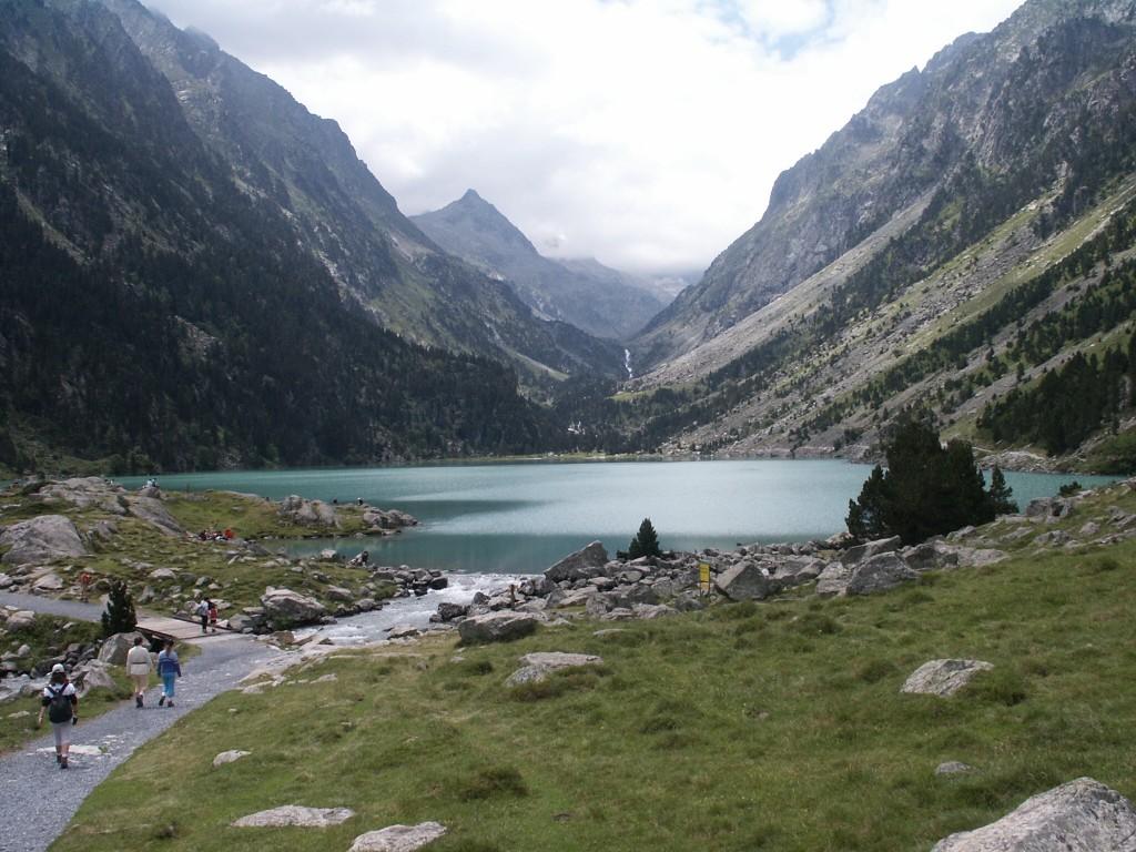 Photo arriv e au lac de gaube - Lac de gaube ...