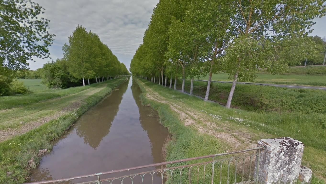Photo canal du berry pr s de langon - Office du tourisme de langon ...