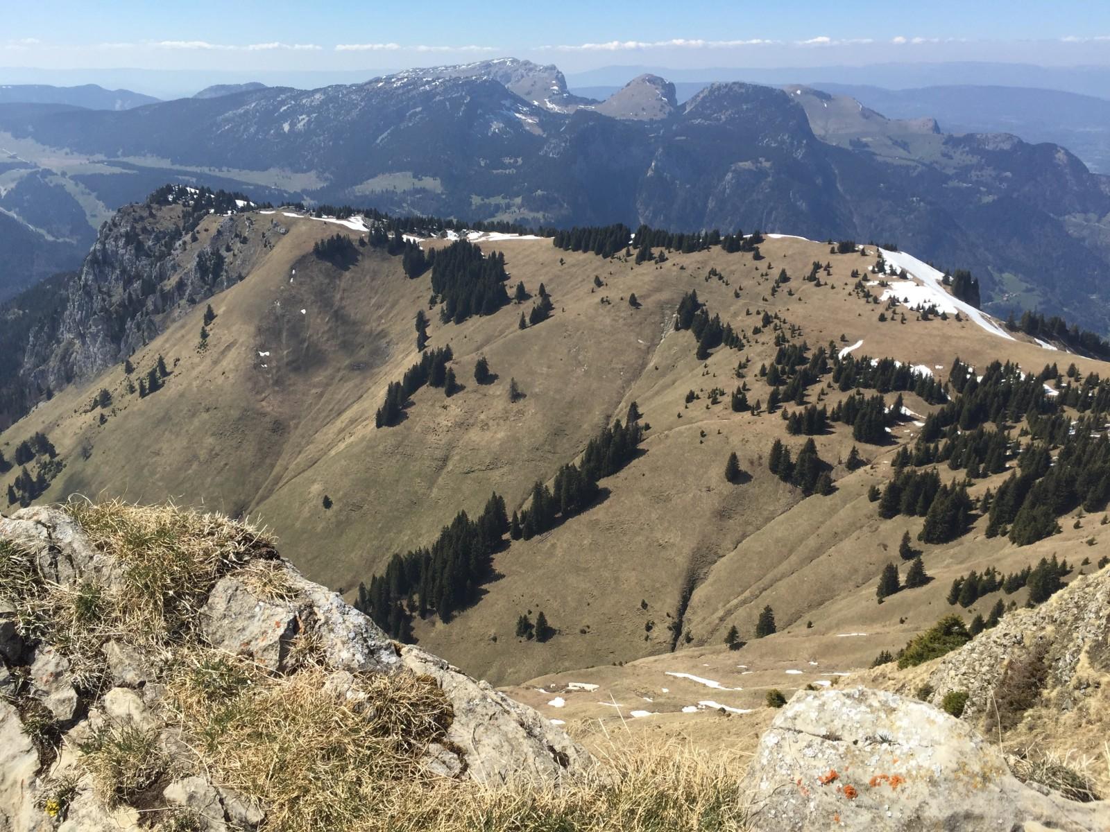 Photo du sommet de l 39 aiguille verte du chinaillon - Au bout de l aiguille ...