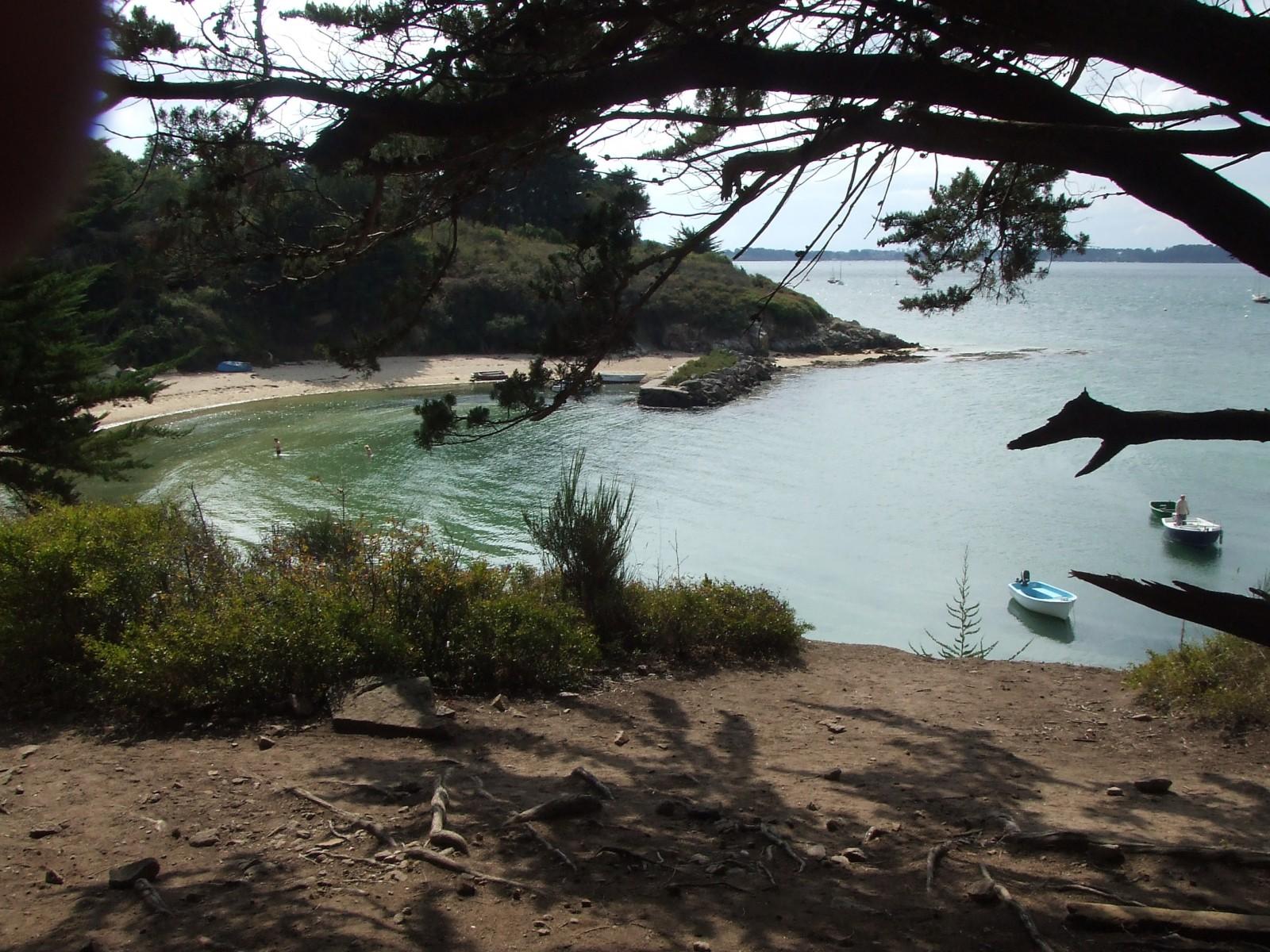 Photo la petite plage du gored sur l 39 le aux moines - Mairie de l ile aux moines ...