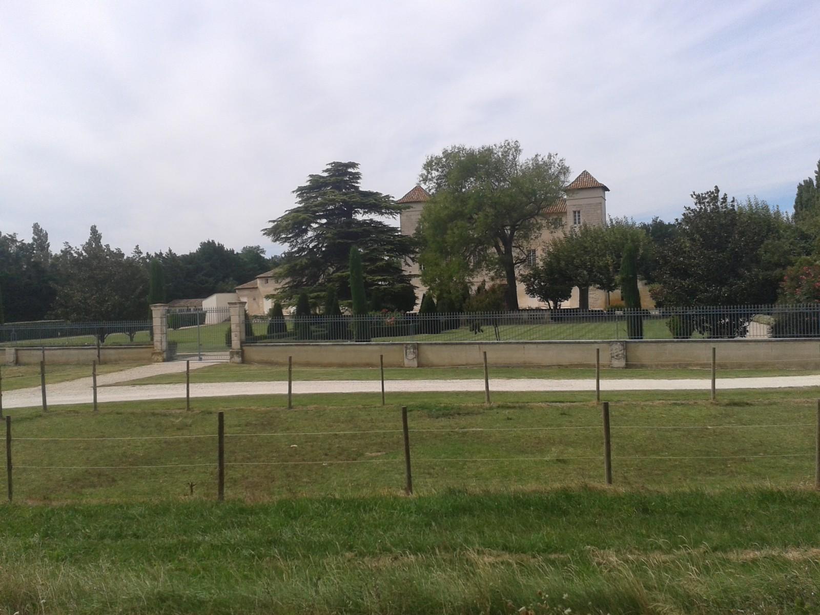 Photo le ch teau de la barthelasse for Ch d avignon