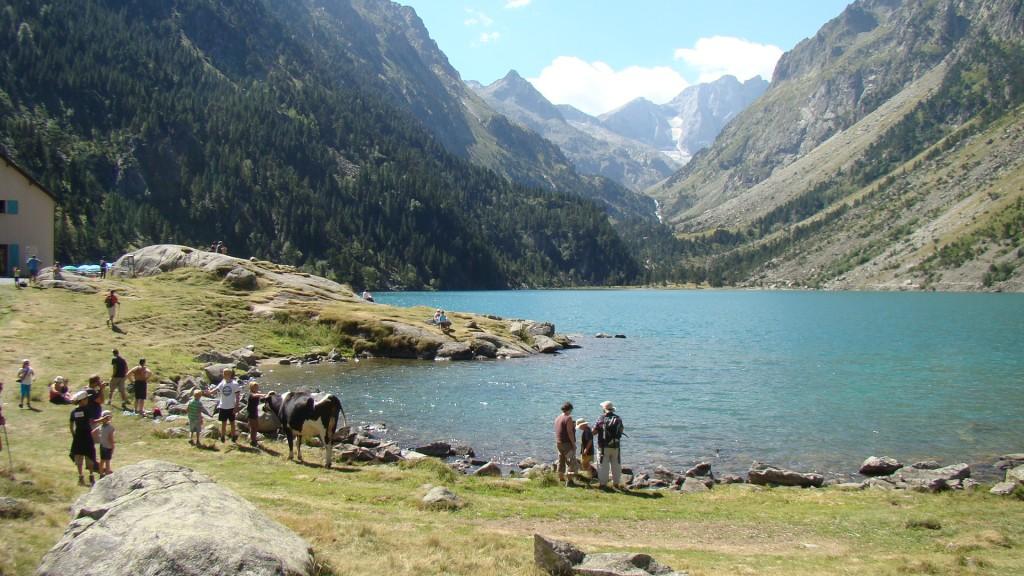 Photo le lac de gaube - Lac de gaube ...