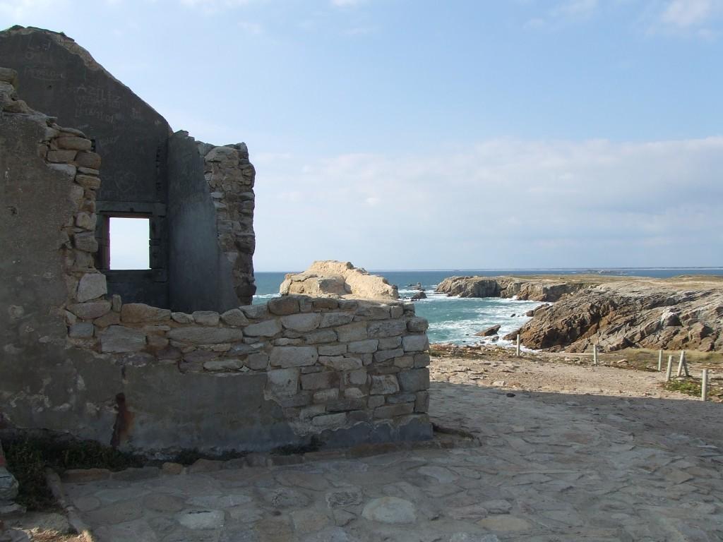 photo   les ruines de la maison des douaniers