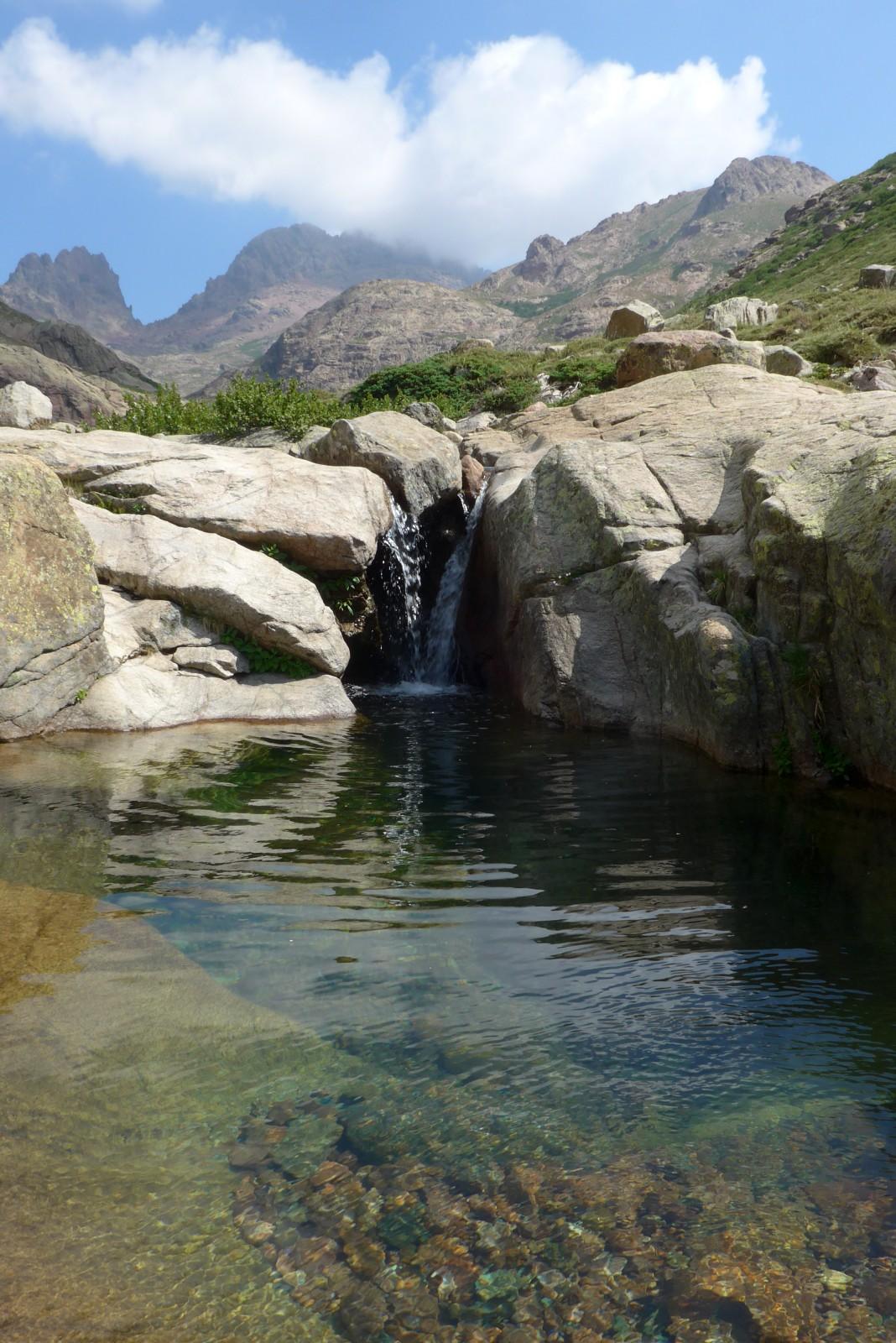 Photo piscine naturelle dans le golo for Photo piscine naturelle
