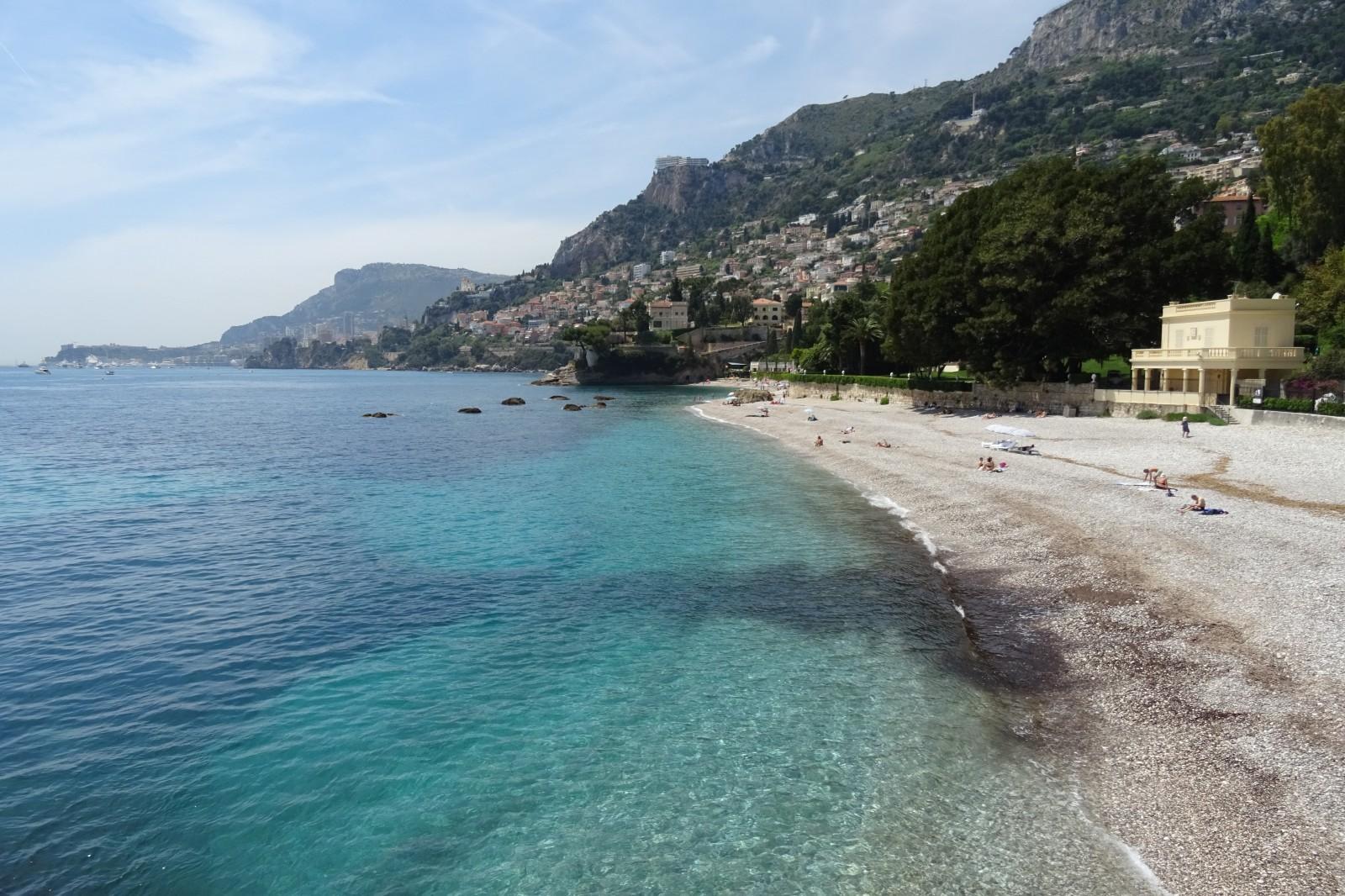 Photo plage du buse et pointe de cabb - Roquebrune cap martin office du tourisme ...