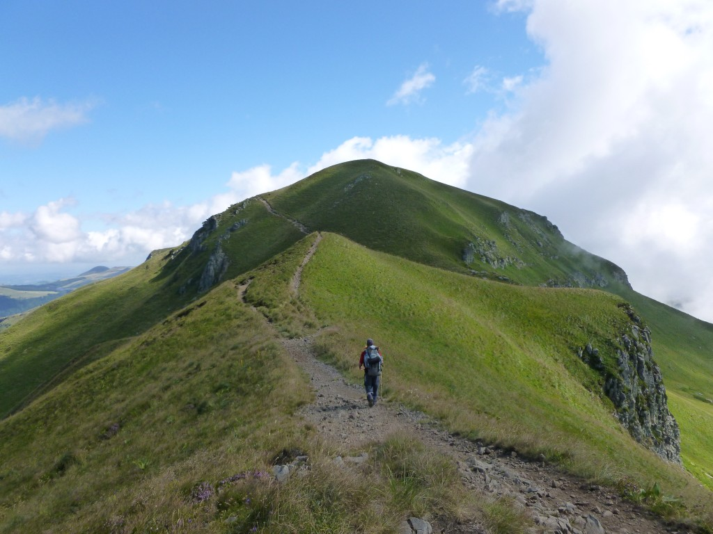 Photo sentier des cr tes du massif du sancy - Office tourisme auvergne puy de dome ...