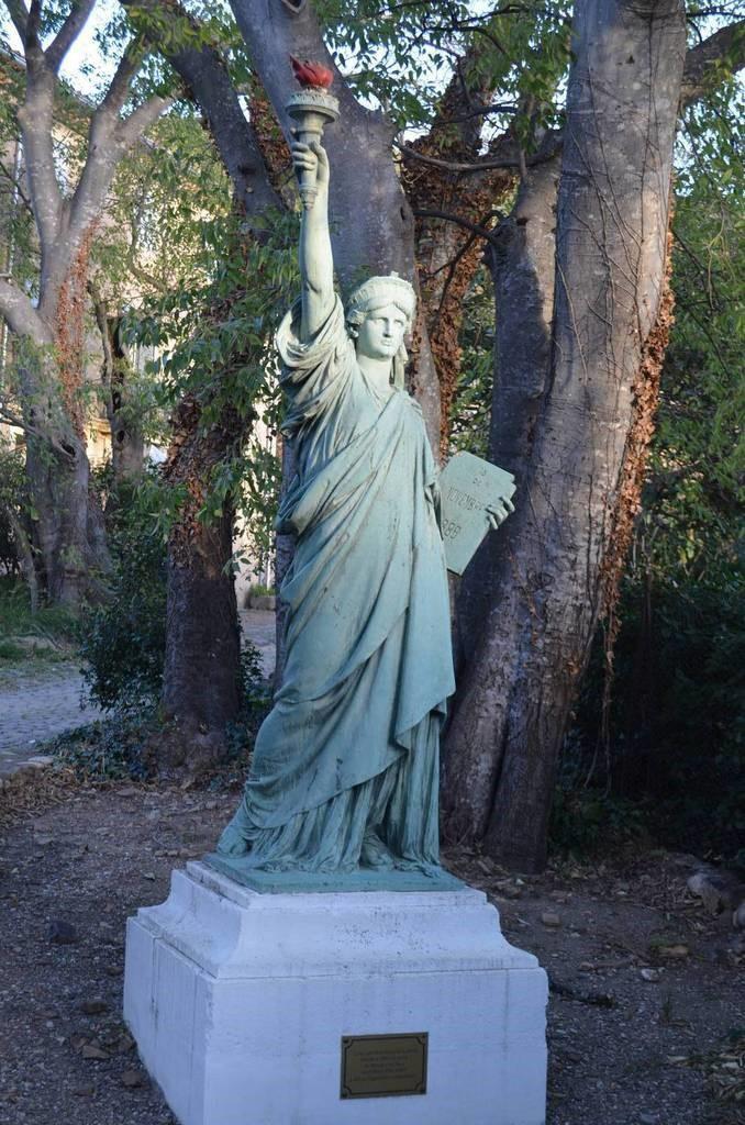 Photo statue de la libert for Createur statue de la liberte