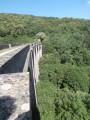 Le tour d'Alzon via tunnels et viaducs