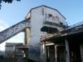 13- Fantomatique ancienne gare d'arrivée du téléférique du Béout