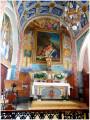 À l'intérieur de l'église Notre-Dame