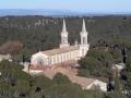La Montagnette depuis l'Abbaye Saint-Michel de Frigolet