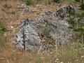 Affleurement de roches - Réserve des Monts de Baives