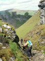 Mam Tor and Cave Dale from Castleton