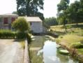 Ancien moulin à eau sur la rivière de Saint-Laurent