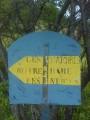 Ancien panneau