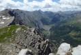 Aperçu sur le vallon du Lau et le lac des Sagnes