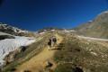 Après le Pont de la Neige, montée vers le Col des Fours