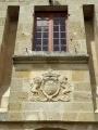 Armoiries au dessus de la porte du château de Blaisy-Haut