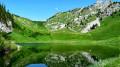 Arrivée au Lac d'Arvouin