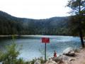 Arrivée au lac des Corbeaux.