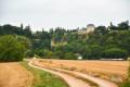 Arrivée sur le Chateau de Mailly