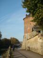 Tour de Bonneville, sur les quais de l'Yonne à Villeneuve-sur-Yonne