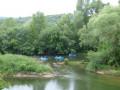 Au bord d'un bras de l'Ardèche