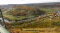 Au-dessus de la vallée du Doubs.