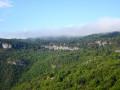 Plateau et forêts au-dessus de Labeil