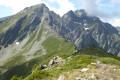 Au-dessus du Col de Roche Plane