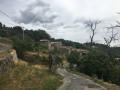 Au-dessus du hameau du Perrier