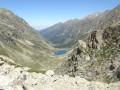 Au loin le lac d'Estom