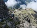 L'Aiguille de Cédéra par son versant Sud