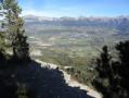 Autre vue sur les montagnes depuis le ravin de Ganiayes